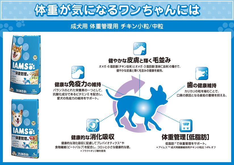 成犬用 体重管理用