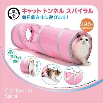 スポーツペット キャットトンネル ピンク