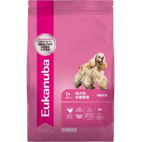 ユーカヌバ 成犬用 体重管理 中型犬用 1歳以上