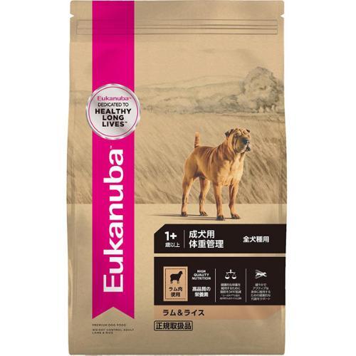 ユーカヌバ ラム&ライス 成犬用 体重管理 全犬種用 1歳以上