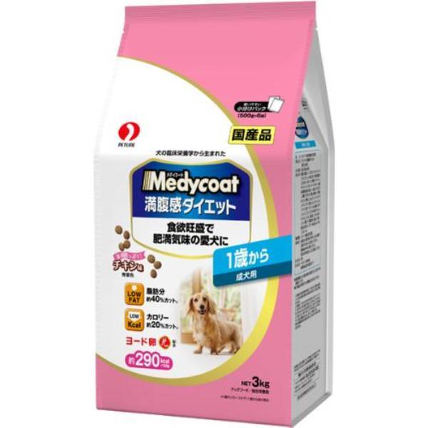 メディコート 満腹感ダイエット 1歳から 成犬用 3kg(500g×6)