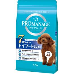 プロマネージ 犬種別シリーズ 7歳からのトイプードル専用 シニア犬用 1.7kg