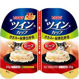 いなば 犬用 ツインカップ (35g×2コパック)×8コ