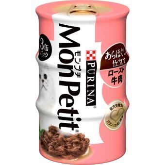 モンプチ 缶 (85g×3缶パック)×24コ