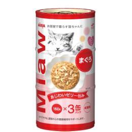 MiawMiaw (160g×3缶パック)×18コ