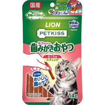 ペットキッス 猫ちゃん歯みがきおやつ 7本/14g