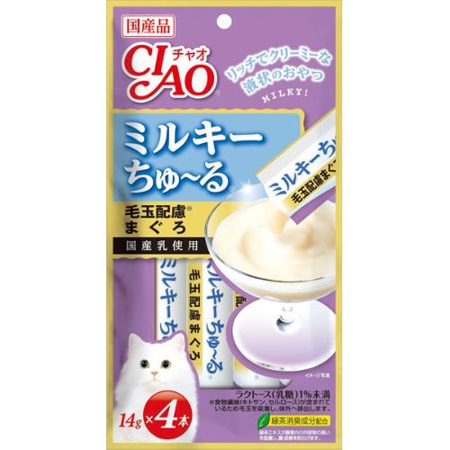 チャオ ミルキーちゅ~る4P