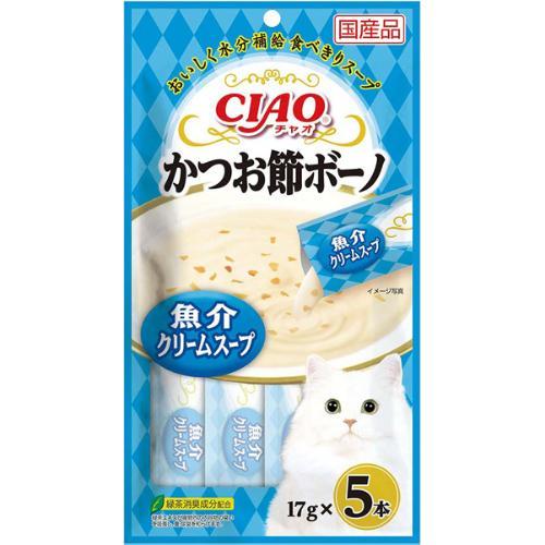 チャオ かつお節ボーノ 魚介クリームスープ