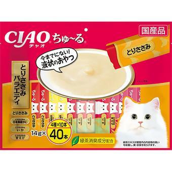 チャオ ちゅ~る バラエティ 40本