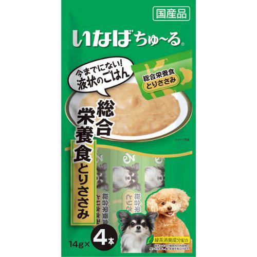 ちゅ~る 犬用 総合栄養食 とりささみ 14g×4本