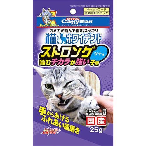 猫ちゃんホワイデント ストロング ツナ味 25g