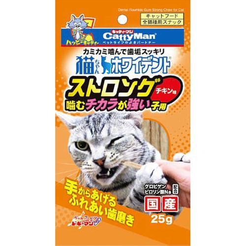 猫ちゃんホワイデント ストロング チキン味 25g