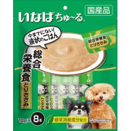 いなば 犬用ちゅ~る 総合栄養食 8本