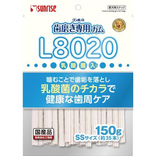 ゴン太の歯磨き専用ガム SSサイズ L8020乳酸菌入り