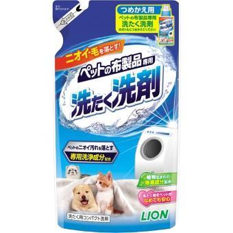 ペットの布製品専用 洗たく洗剤/抗菌仕上げ柔軟剤