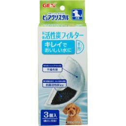 ピュアクリスタル 抗菌活性炭フィルター半円タイプ 犬用