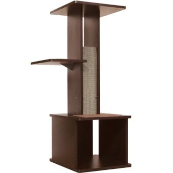 necoco スリムで壁ぎわに置きやすい キャットリビングタワー