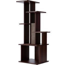 necoco スリムで壁ぎわに置きやすい キャットリビングタワー ハイタイプ
