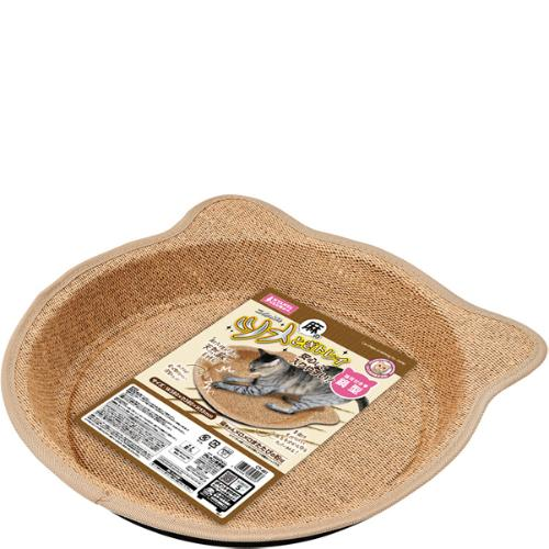 麻のツメとぎトレイ鍋型