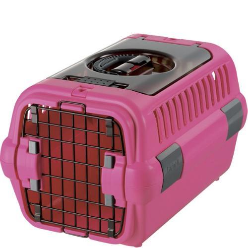 キャンピングキャリー ダブルドア S ピンク