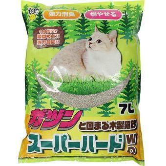 ガツンと固まる木製猫砂
