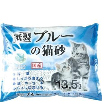 ブルーの猫砂