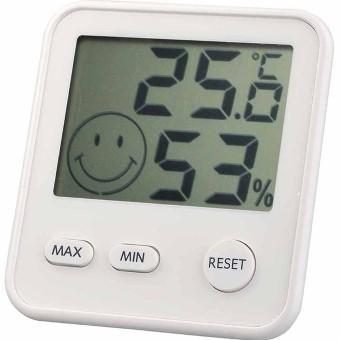 デジタルmidi温度・湿度計 ホワイト