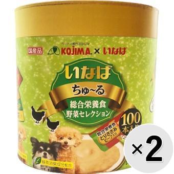 いなば ちゅ~る 犬用 100本×2コ