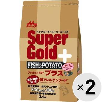スーパーゴールド フィッシュ&ポテト プラス 2.4kg×2コ