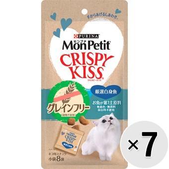 モンプチ クリスピーキッス グレインフリー 24g×7コ