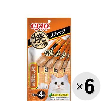 チャオ 焼かつおスティック 4本×6コ