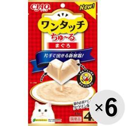 チャオ ワンタッチちゅ~る 4個入り×6コ