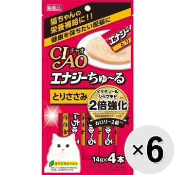 チャオ エナジーちゅ~る とりささみ (14g×4本)×6コ [ちゅーる]