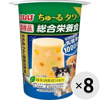 いなば ちゅ~るタワー 総合栄養食 80g×8コ