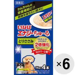 いなば 犬用 エナジーちゅ~る (14g×4本)×6コ