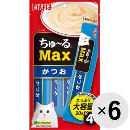 ちゅ~るMAX 猫用 4本×6コ
