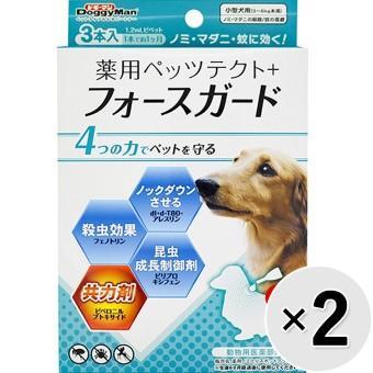 薬用ペッツテクト+フォースガード 犬用 3本入り×2コ