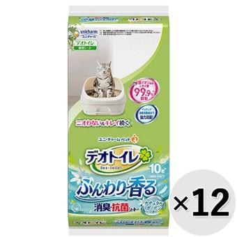 デオトイレ 取り替え専用 消臭・抗菌シート 12コセット