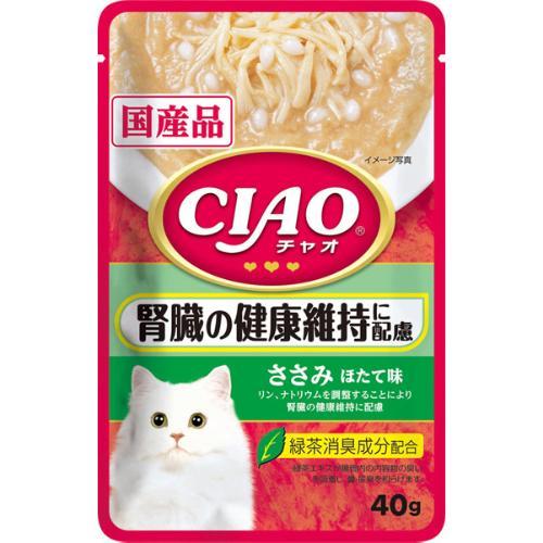 チャオ パウチ 腎臓の健康維持に配慮 ささみ ほたて味