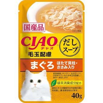 チャオ だしスープパウチ 40g