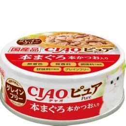 チャオ 缶 ピュア 70g