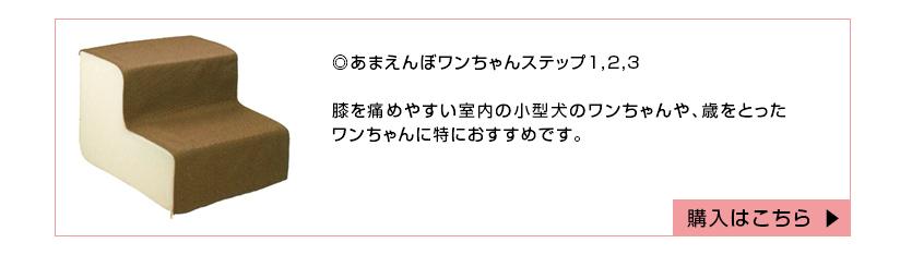 あまえんぼワンちゃんステップ1,2,3