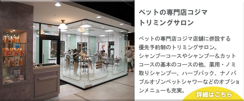ペットの専門店コジマ トリミングサロン