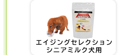 エイジングセレクションシニアミルク犬用