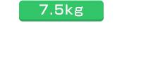 ラージフィットボディ7.5kg