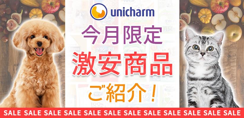 ユニ・チャーム 今月限定激安商品ご紹介!